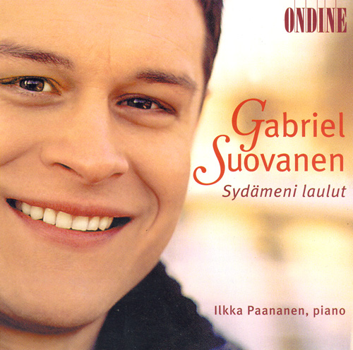 Vocal Recital: Suovanen, Gabriel - KARKI, T. / COLLAN, K. / MERIKANTO, O. / PALMGREN, S. / HANNIKAINEN, I. / KILPINEN, Y. / SIBELIUS, J.