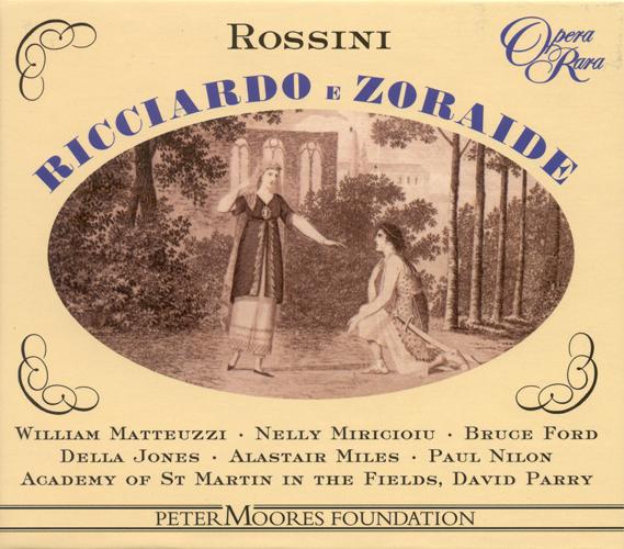 ROSSINI, G.: Ricciardo e Zoraide [Opera] (Parry)