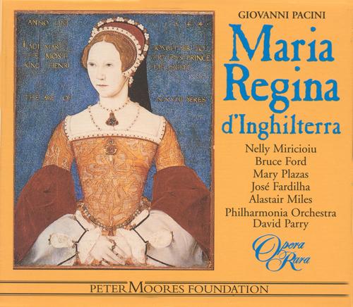 PACINI: Maria, regina d'Inghilterra