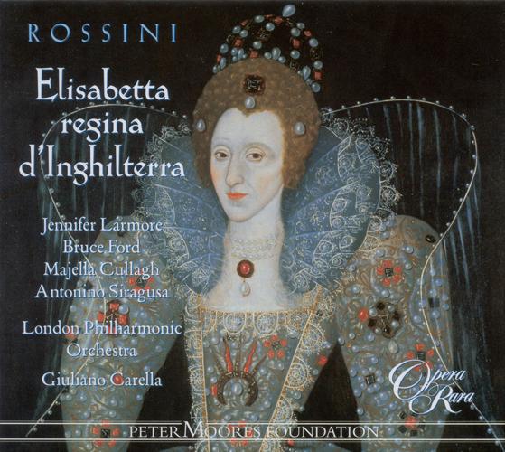 ROSSINI, G.: Elisabetta, regina d'Inghilterra (Larmore, London Philharmonic, Carella)