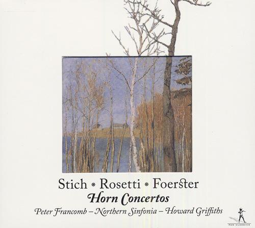 PUNTO, G.: Horn Concerto No. 5 / ROSETTI, A.: Horn Concerto in E flat major / FORSTER, C.: Horn Concerto in E flat major (Francomb)