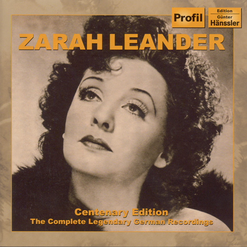 LEANDER, Zarah: Centenary Edition - The Complete Legendary German Recordings (1936-1952)