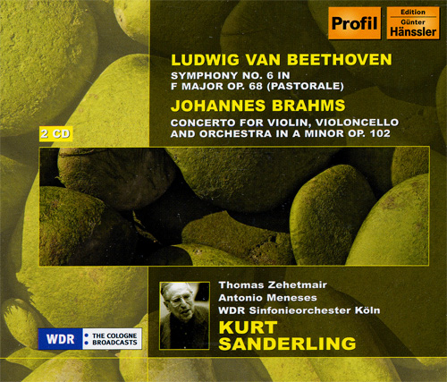 BEETHOVEN: Symphony No. 6 / Choral Fantasy / BRAHMS: Double Concerto