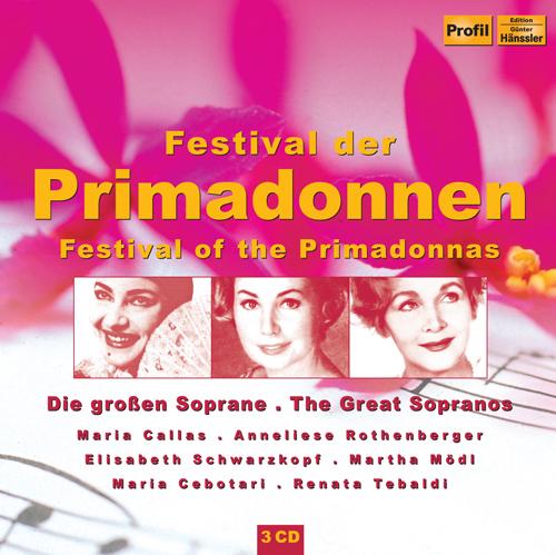 Operas and Operettas - DONIZETTI, G. / LEHAR, F. / KALMAN, E. / BOITO, A. / PUCCINI, G. / BELLINI, V. / MOZART, W.A. (Festival of the Primadonnas)