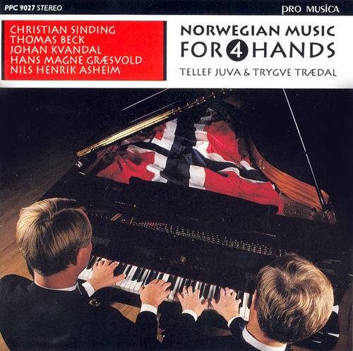 SINDING, C.: 8 Stucke / BECK, T.: Dansar fra Gudbrandsdal / ASHEIM, N.H.: Mikkel Rev (Norwegian Music for 4 hands) (Juva, Traedal)