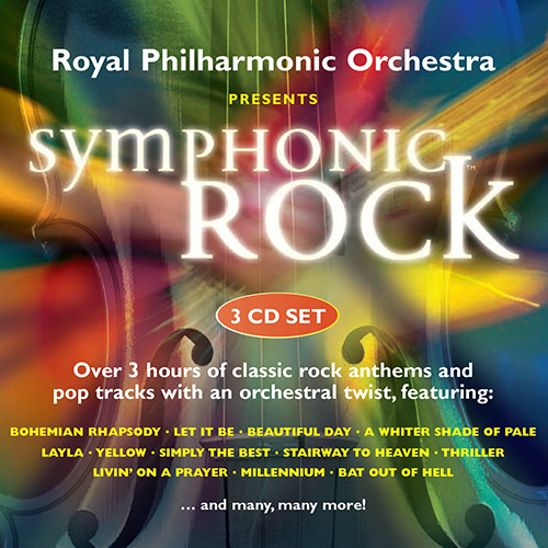 SYMPHONIC ROCK (Royal Philharmonic, D. Arnold, M. Freeman)