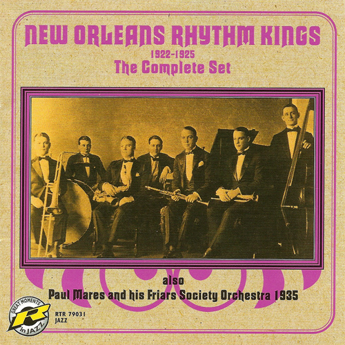 NEW ORLEANS RHYTHM KINGS: Complete Set (The) (1922-1925)