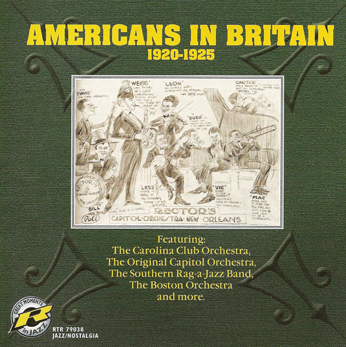 AMERICANS IN BRITAIN (1920-1925)