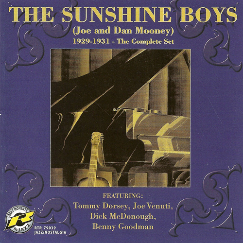 SUNSHINE BOYS: Sunshine Boys - Joe and Dan Mooney (The Complete Set, 1929-1931)