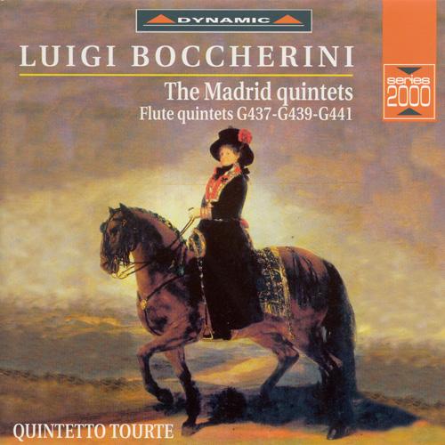 BOCCHERINI: Madrid Flute Quintets