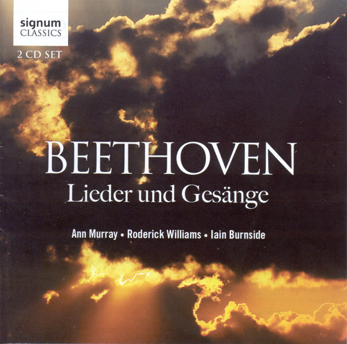 BEETHOVEN, L. van: Lieder und Gesange (Murray, Williams, Burnside)