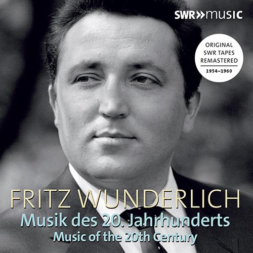 Vocal Recital (Tenor): Wunderlich, Fritz - RAPHAEL, G. / NEUMEYER, F. / BAUSZNERN, D. von / HELM, E. (Music of the 20th Century) (1954-1960)