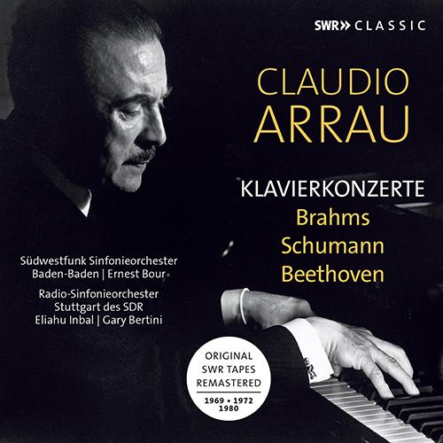Piano Concertos - BRAHMS, J. / SCHUMANN, R. / BEETHOVEN, L. van (1969-1980)