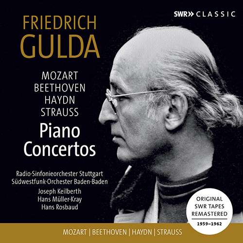 Piano Concertos - MOZART, W.A. / BEETHOVEN, L. van / HAYDN, J. (Gulda, Keilberth, Müller-Kray, Rosbaud) (1959-1962)
