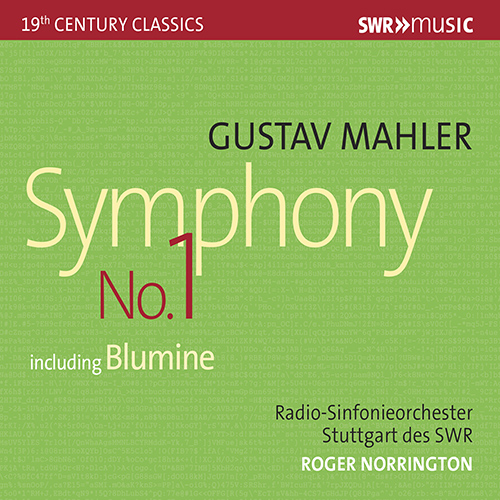 """MAHLER, G.: Symphony No. 1, """"Titan"""""""