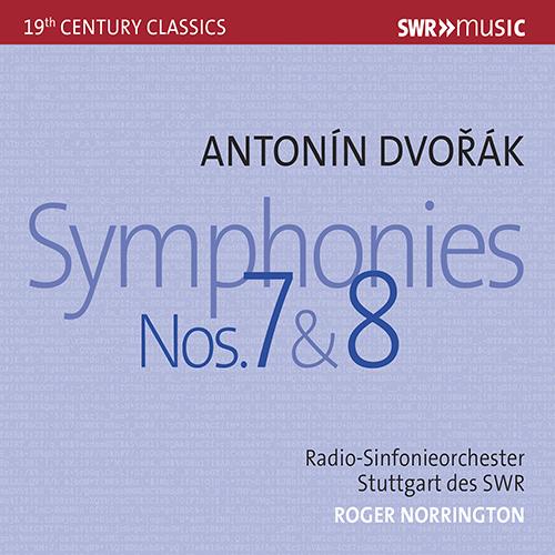 DVOŘÁK, A.: Symphonies Nos. 7 and 8