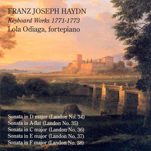 HAYDN, J.: Keyboard Sonatas Nos. 34-38 (Odiaga, fortepiano)