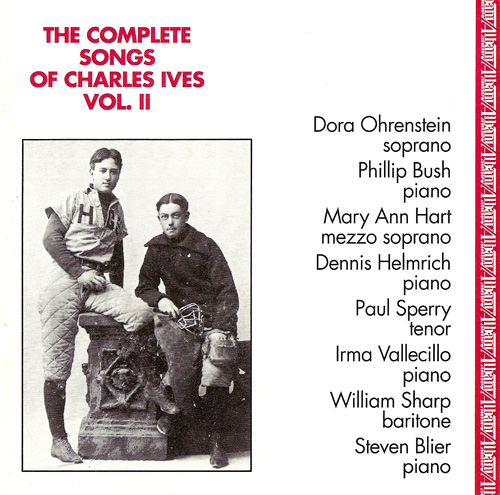 IVES, C.: Songs (Complete), Vol. 2