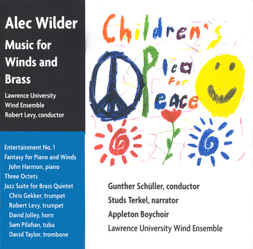 LAWRENCE UNIVERSITY WIND ENSEMBLE: Children's Plea for Peace