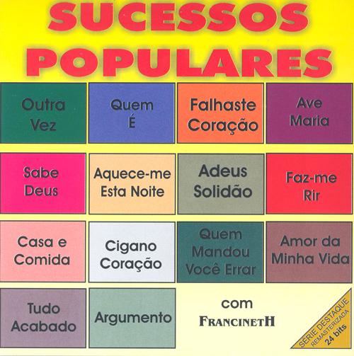 BRAZIL Francineth: Sucessos Populares