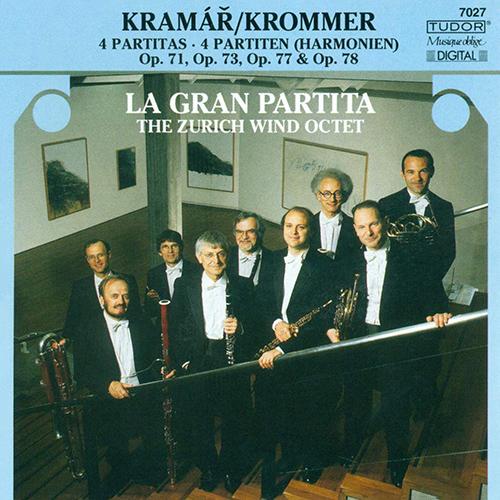 KROMMER, F.: Partitas - Opp. 71, 73, 77, 78 (Zurich Wind Octet)