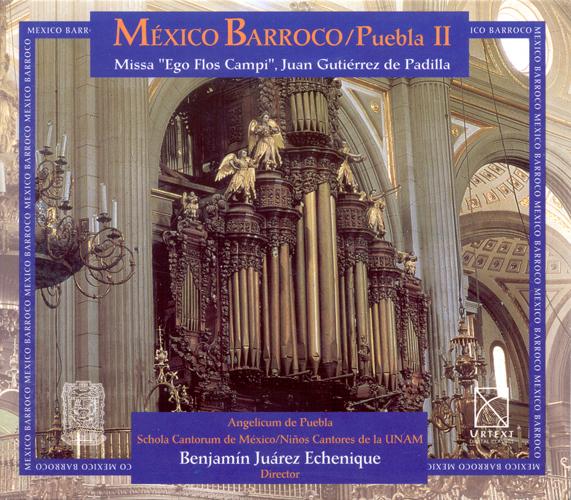 Baroque Music - CABEZON, A. / PADILLA, J.G. de / CLEMENS NON PAPA, J. / LABA, A. (Baroque Mexico, Vol. 2) (Schola Cantorum de Mexico, Echenique)