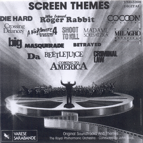 Film Music - ELFMAN, D. / SHORE, H. / SCOTT, J. / CHILHARA, P. / HORNER, J. / RODGERS, N. / GOURIET, G. (Screen Times) (Royal Philharmonic, Scott)