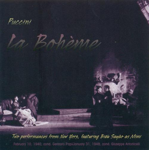 PUCCINI, G.: Boheme (La) [Opera] (1940, 1948)