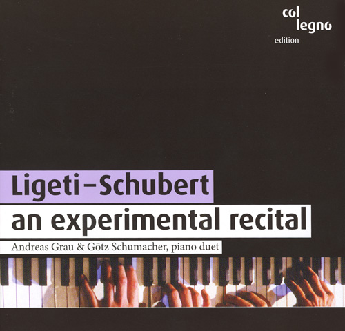 LIGETI, G.: 3 Pieces for 2 Pianos / SCHUBERT, F.: Fantasy in F minor / Sonata for Piano 4 Hands in B flat major (Grau, Schumacher)