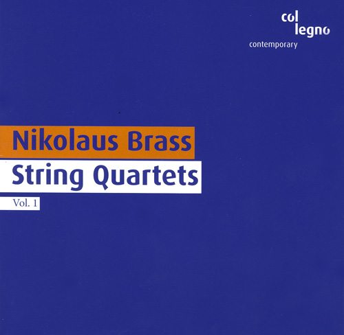 BRASS: String Quartets, Vol. 1 - Nos. 2 and 3 / Music for String Quartet (Auritus Quartet)
