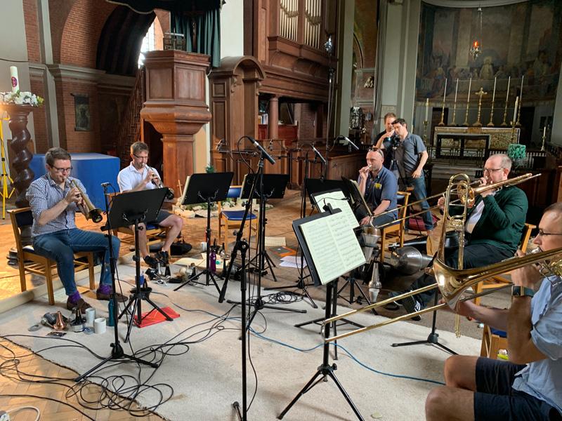 Classical Music News: In the Studio: Septura prepares a